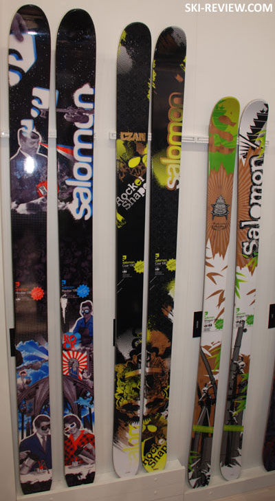 poudre sur mesure yves saint laurent - Salomon Skis 2011 - Ski-Review.com
