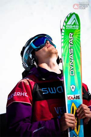 Reine Barkered World Freeride Tour Winner 2012